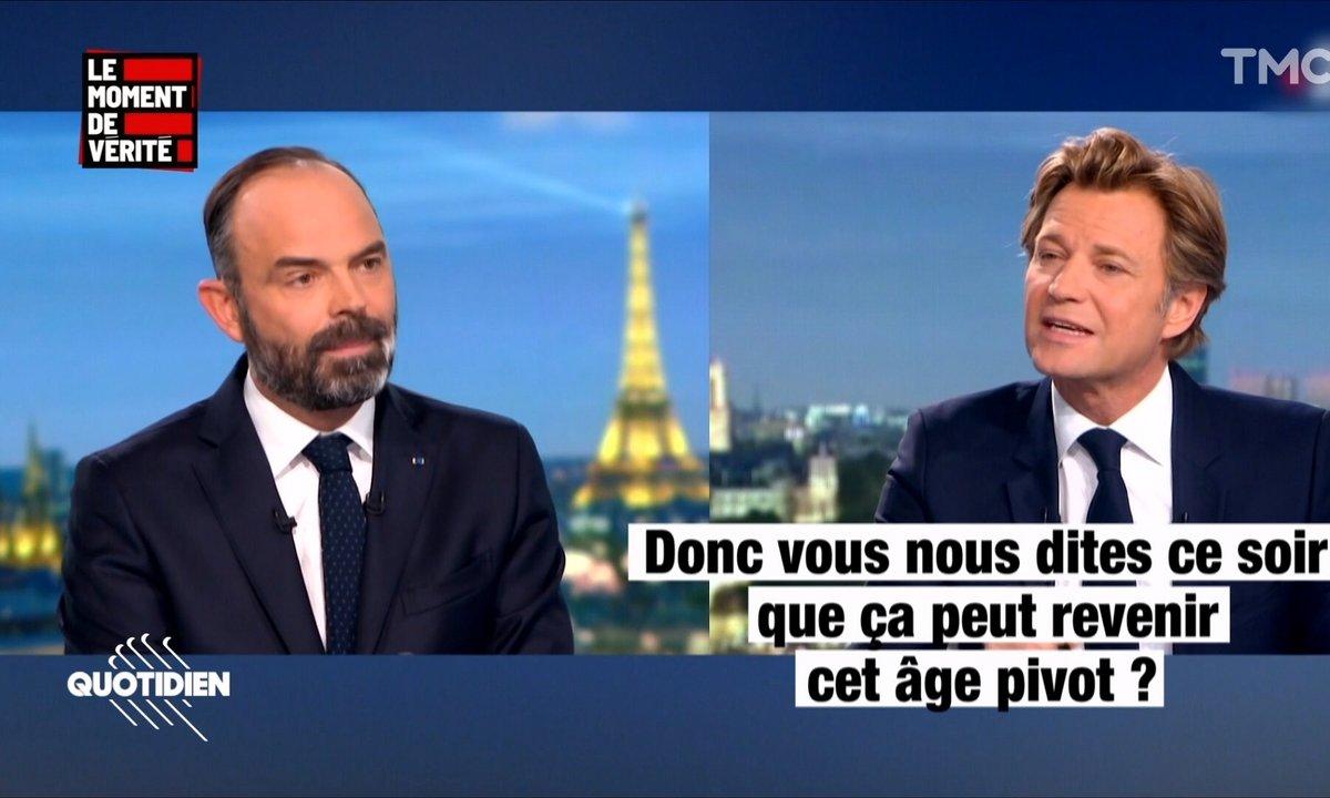 Le Moment de vérité – Retraites : Edouard Philippe a-t-il VRAIMENT reculé sur l'âge pivot ?