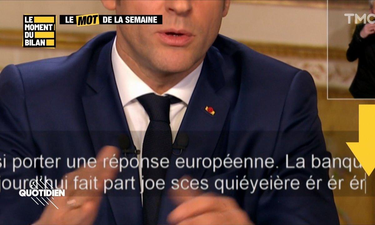 Le Moment du bilan : que s'est-il passé avec les sous-titres de l'allocution d'Emmanuel Macron ?