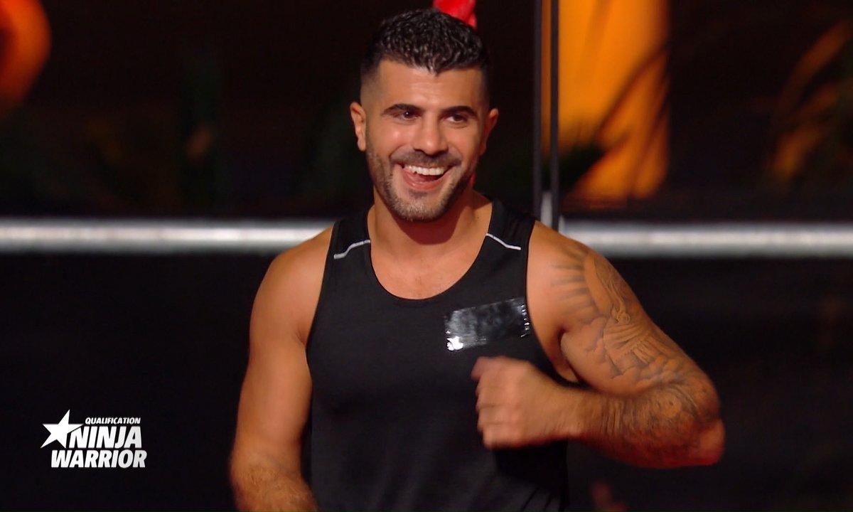 Ninja warrior du 23 janvier 2021 - Pas vu à la TV : le parcours de Thomas Adamandopoulos