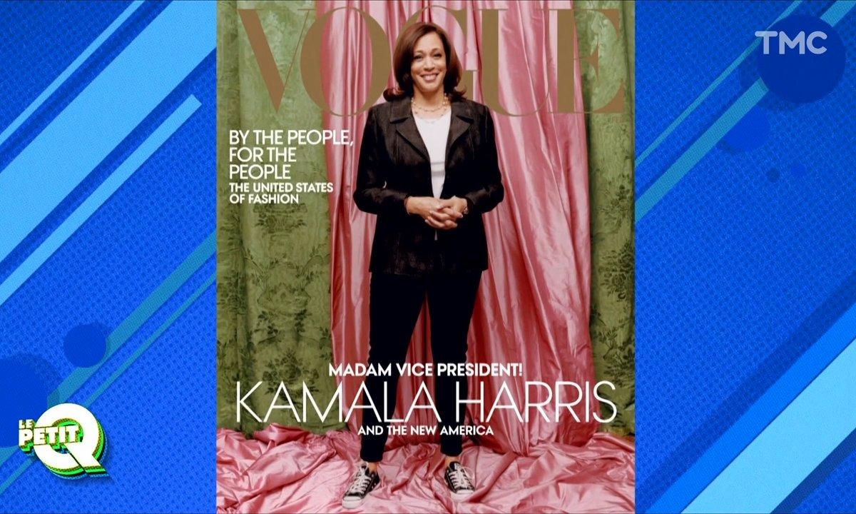 Le Petit Q: Kamala Harris en Une de Vogue, coup de com' raté