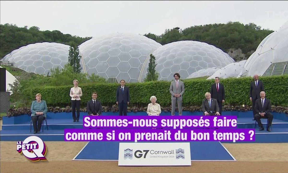 Le Petit Q : la reine Elizabeth II met l'ambiance au G7