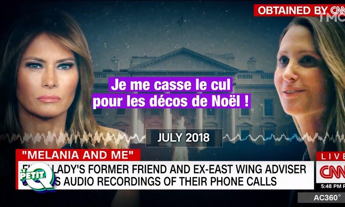 Le Petit Q: les enregistrements secrets de Melania Trump