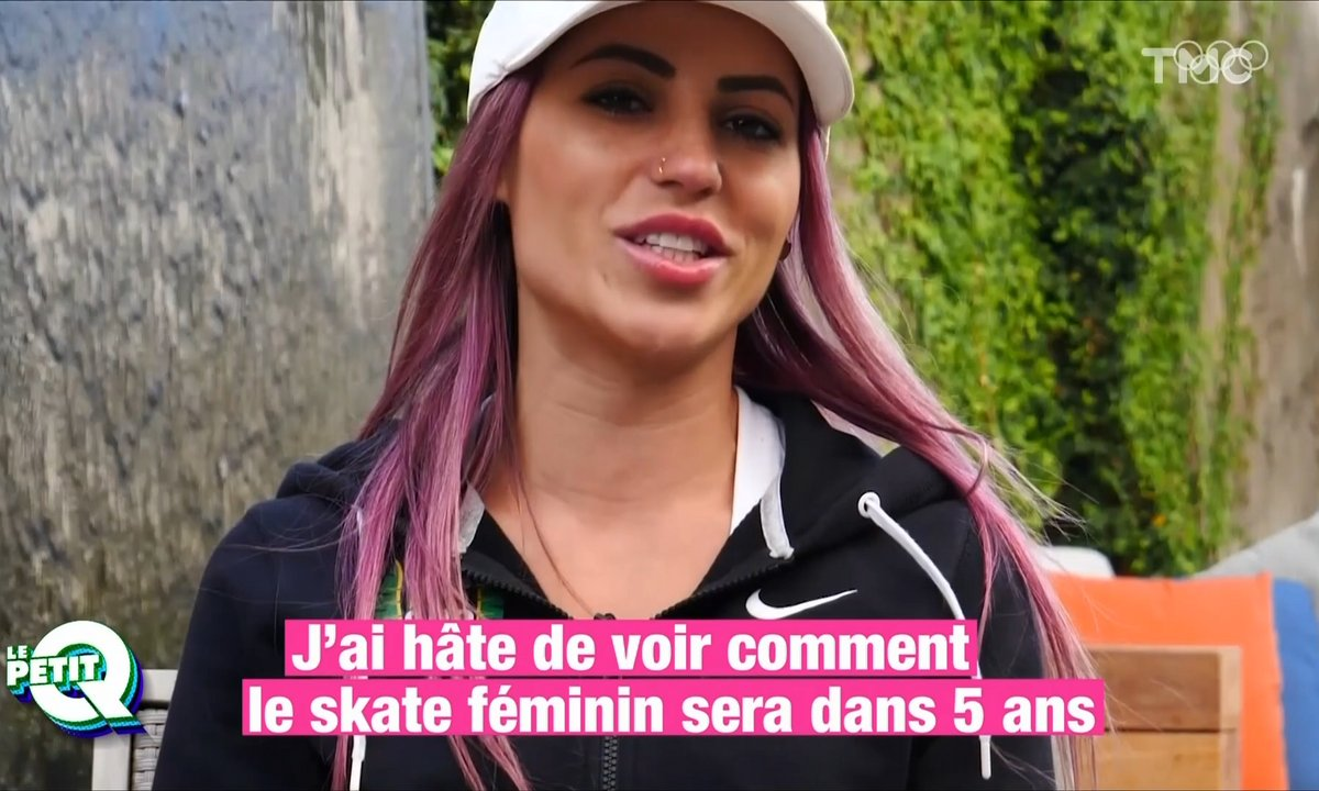 Le Petit Q : Leticia Bufoni, la star du skateboard des prochains JO