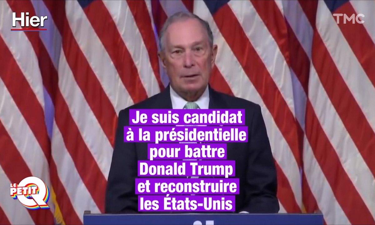 Le Petit Q : qui est Michael Bloomberg, le concurrent de Trump à la Maison Blanche ?