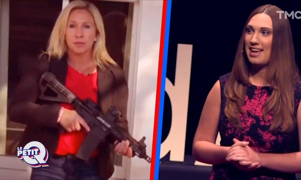 Le Petit Q : qui sont Sarah McBride et Marjorie Taylor Greene, fraîchement élues ?