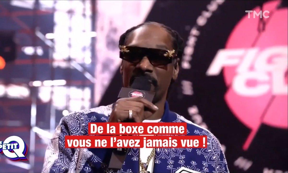 """Le Petit Q : Snoop Dog veut révolutionner la boxe avec son """"Fight Club"""""""