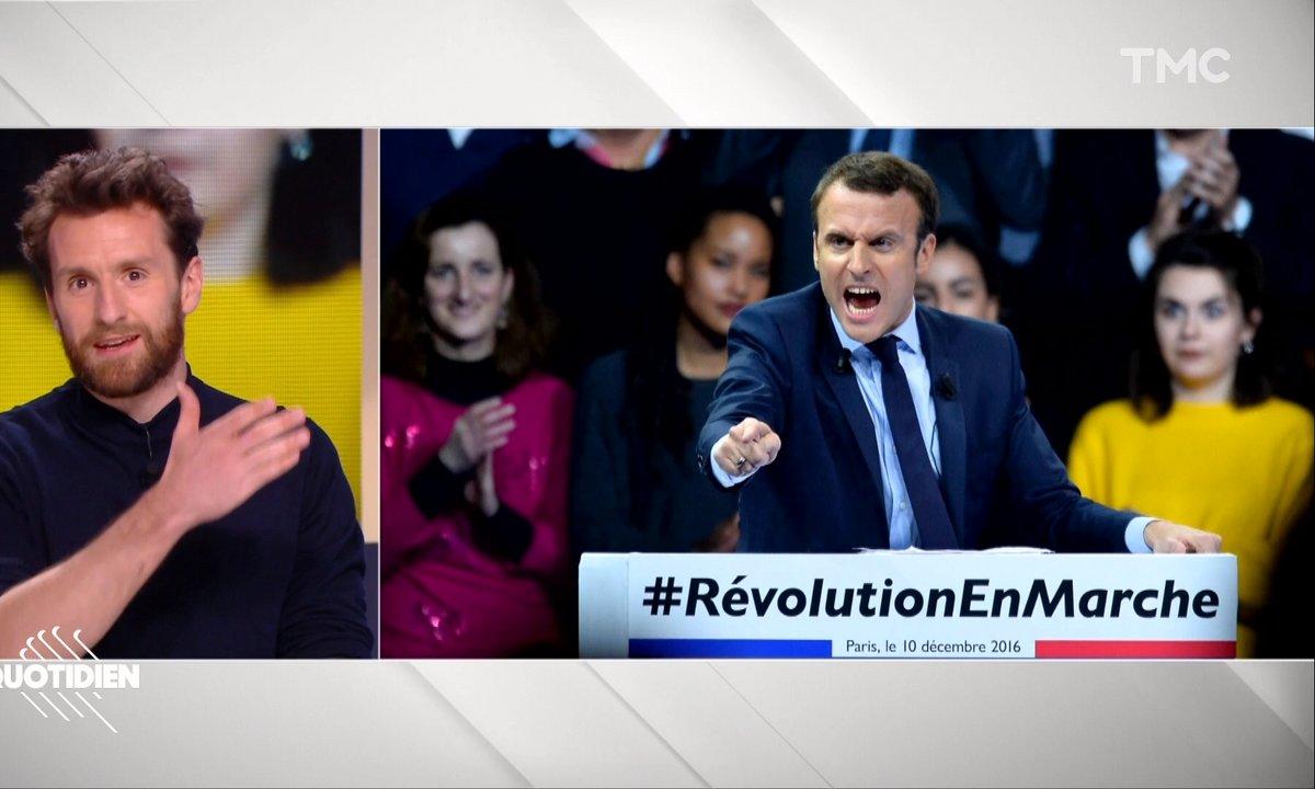 Le portrait à peu près de Pablo Mira : Emmanuel Macron