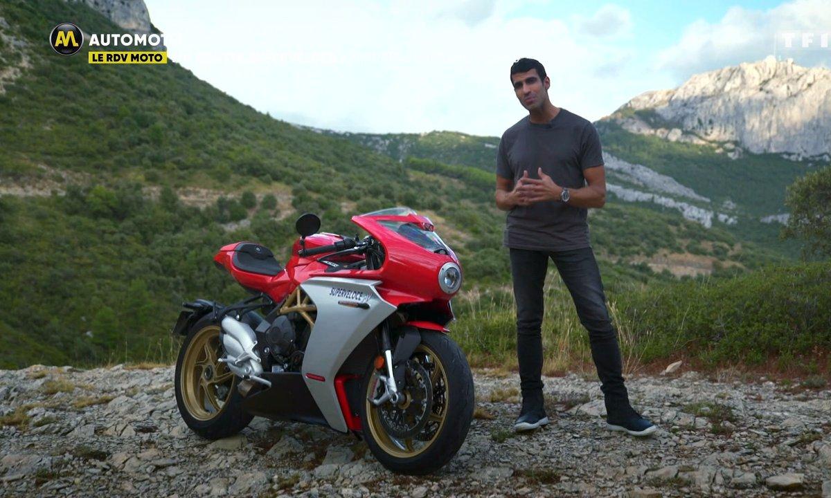"""Le RDV Moto : MV Agusta Superveloce, """"Ferrari"""" sur deux roues"""