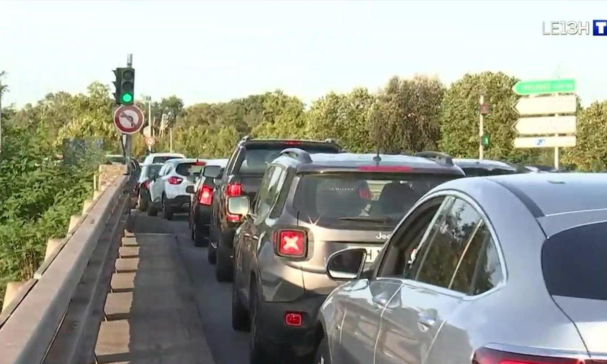 Le retour des embouteillages à Toulouse