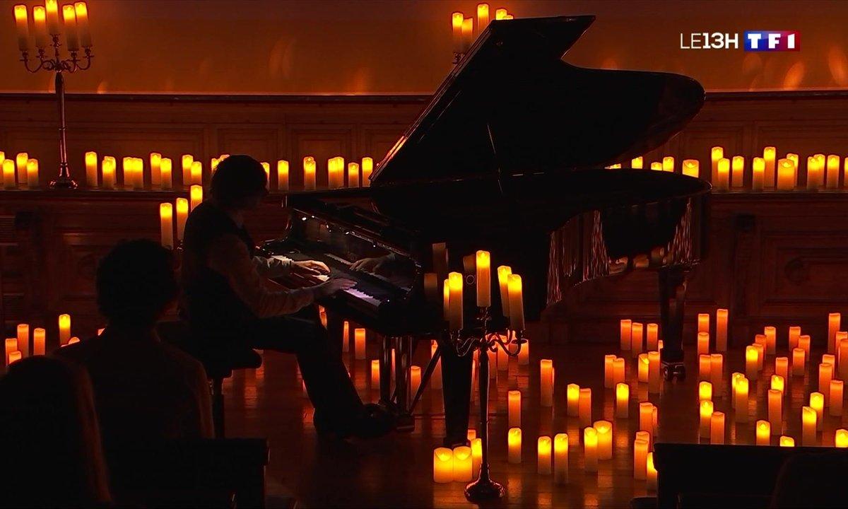 Le succès des concerts de piano à la bougie