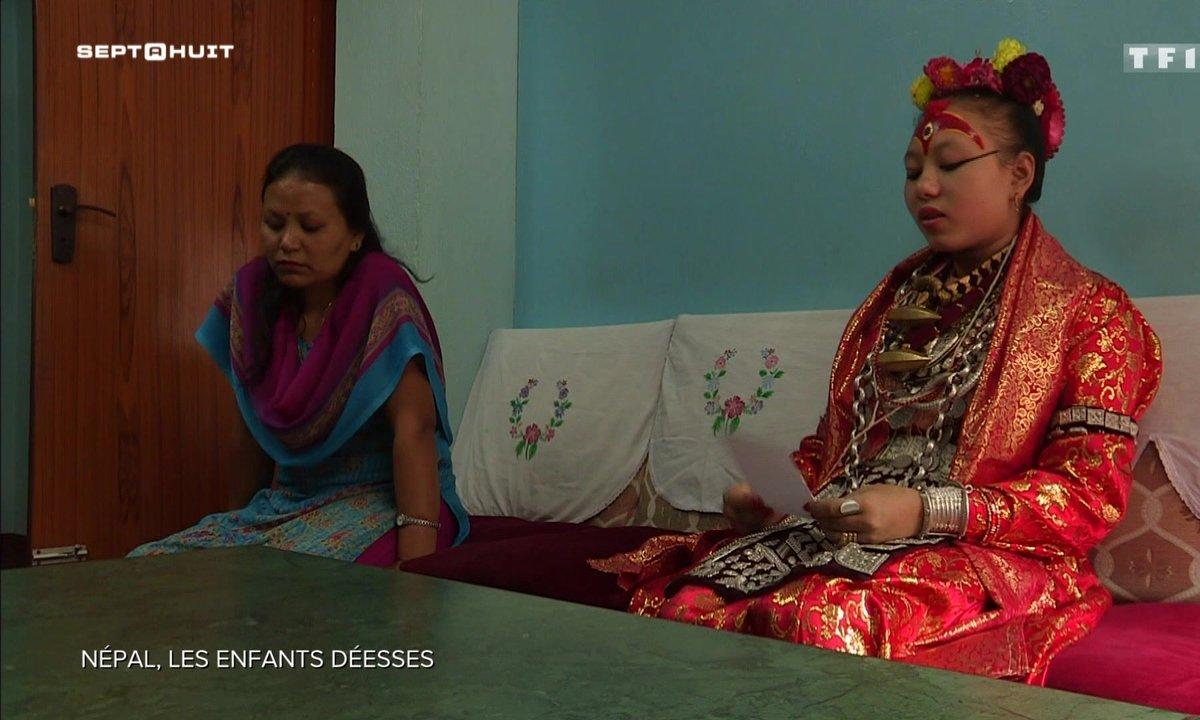 """Le terrible destin des """"Kumaris"""", enfants déesses du Népal"""