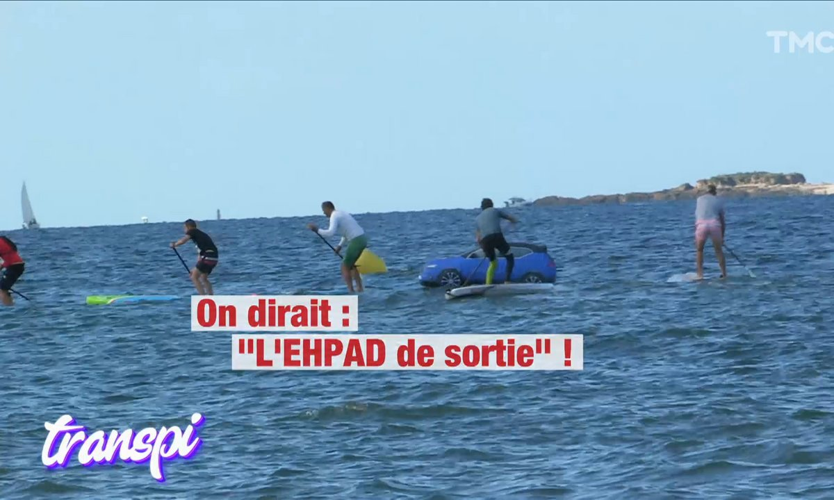 Le Transpi XXL du week-end : chez les as du Paddle