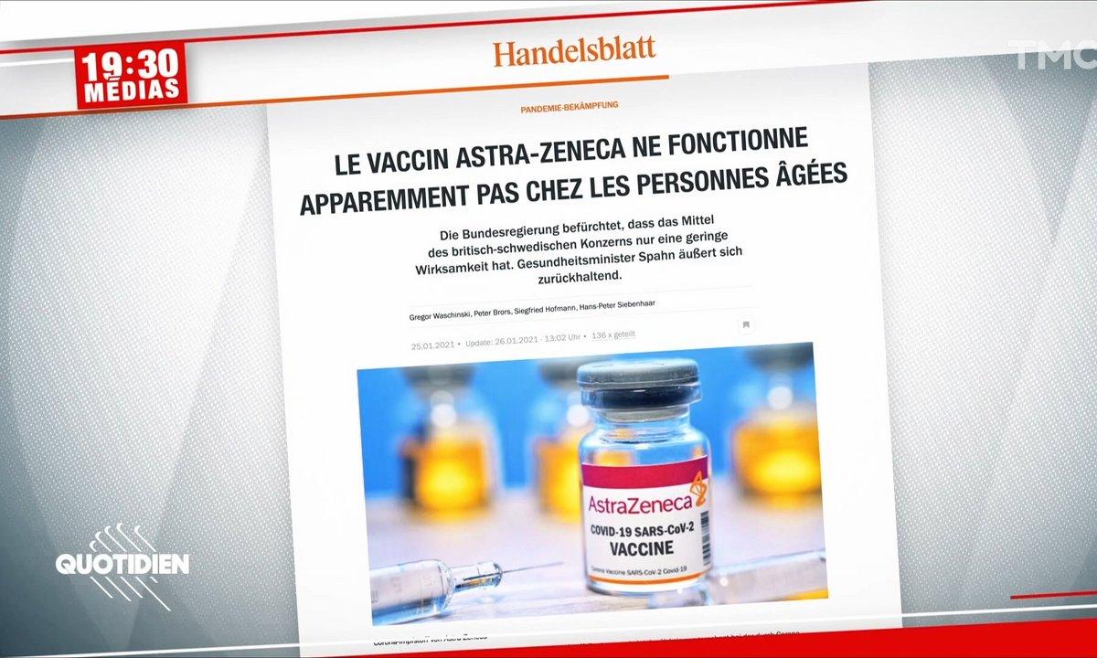 Le vaccin AstraZeneca sera-t-il efficace sur les plus de 65 ans ?