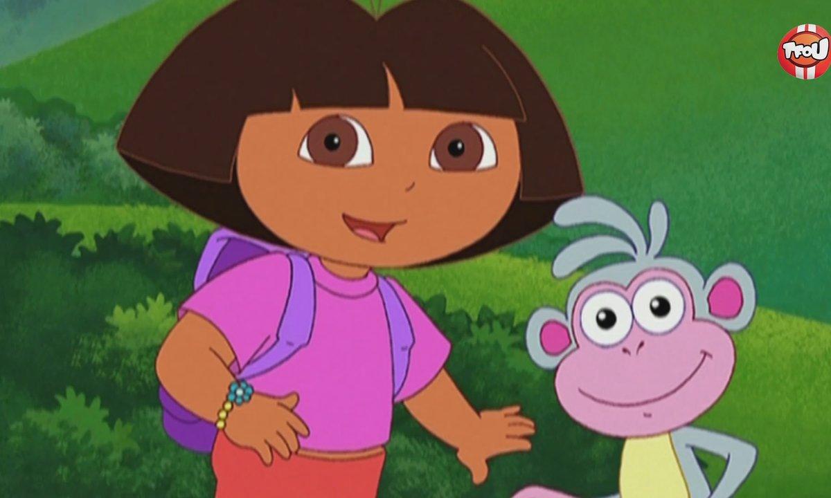 Dora l'exploratrice - Dora et l'histoire de chevalier - Extrait