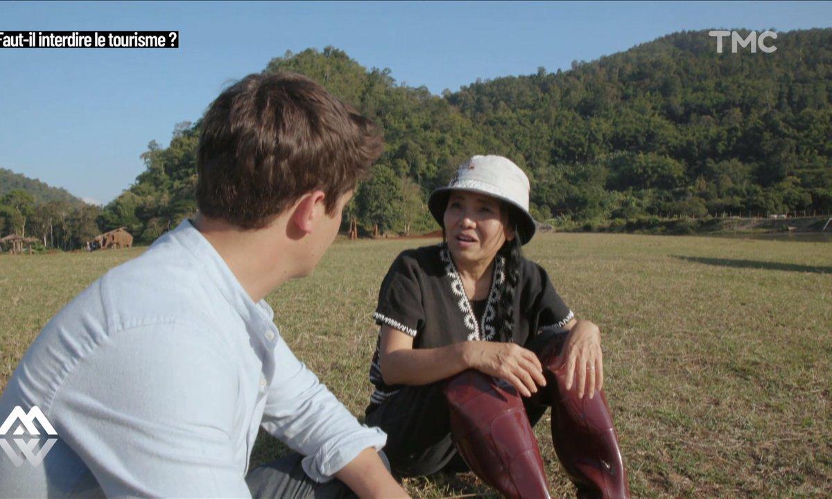 """Lek Chailert, sauveuse d'éléphants : """"Seuls les touristes peuvent faire changer les choses"""""""