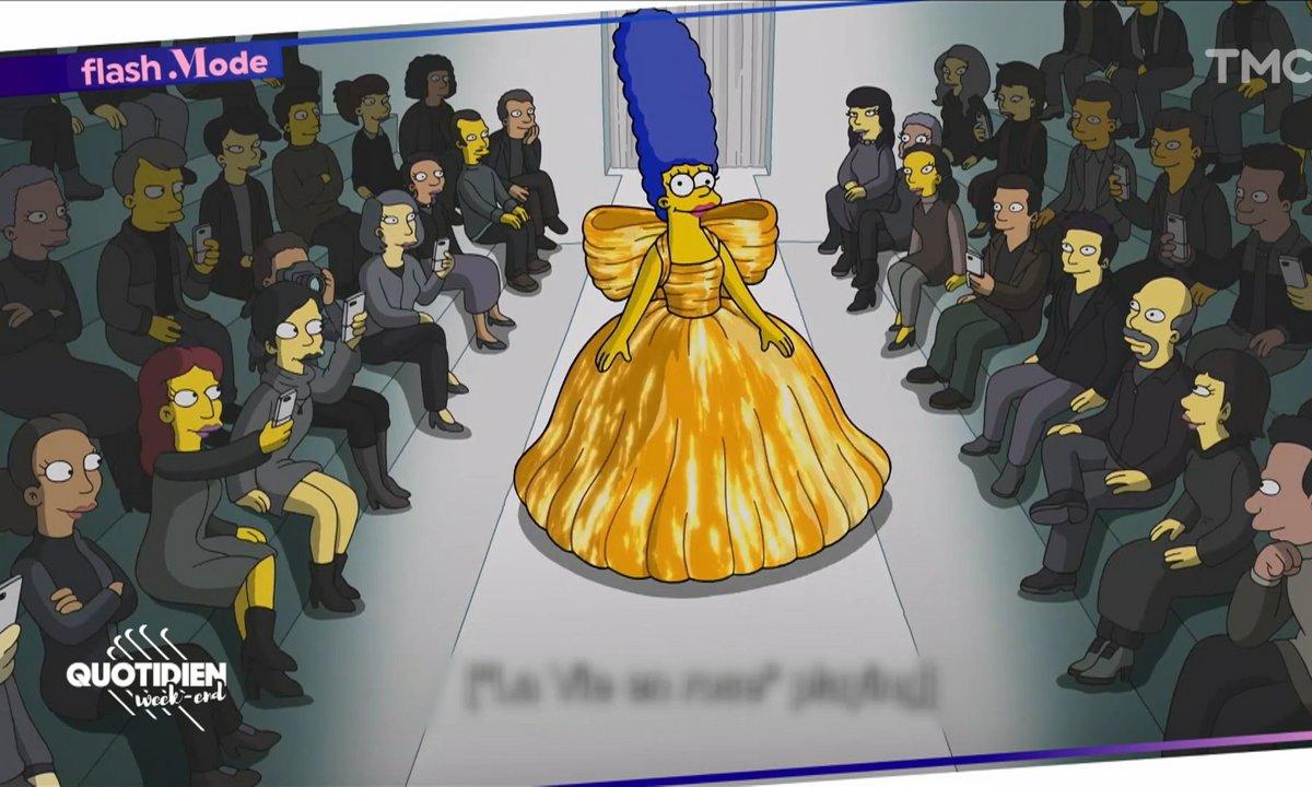 L'épisode spécial des Simpson pour Balenciaga