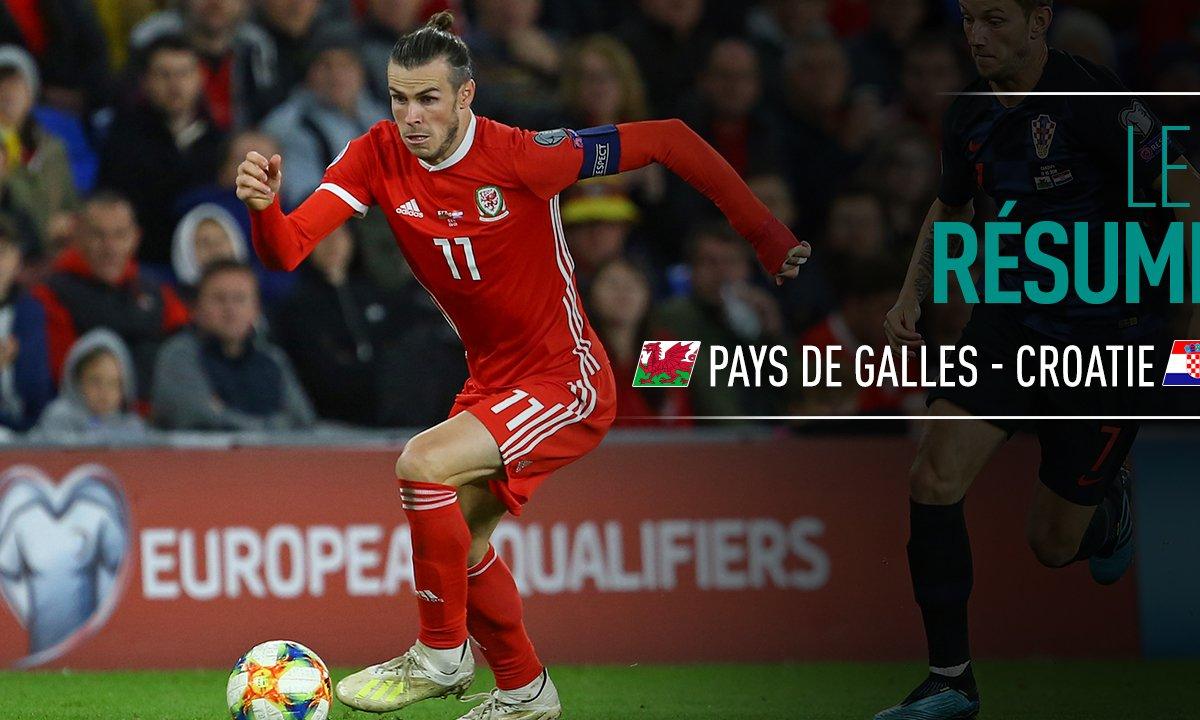 Pays de Galles - Croatie : Voir le résumé du match en vidéo