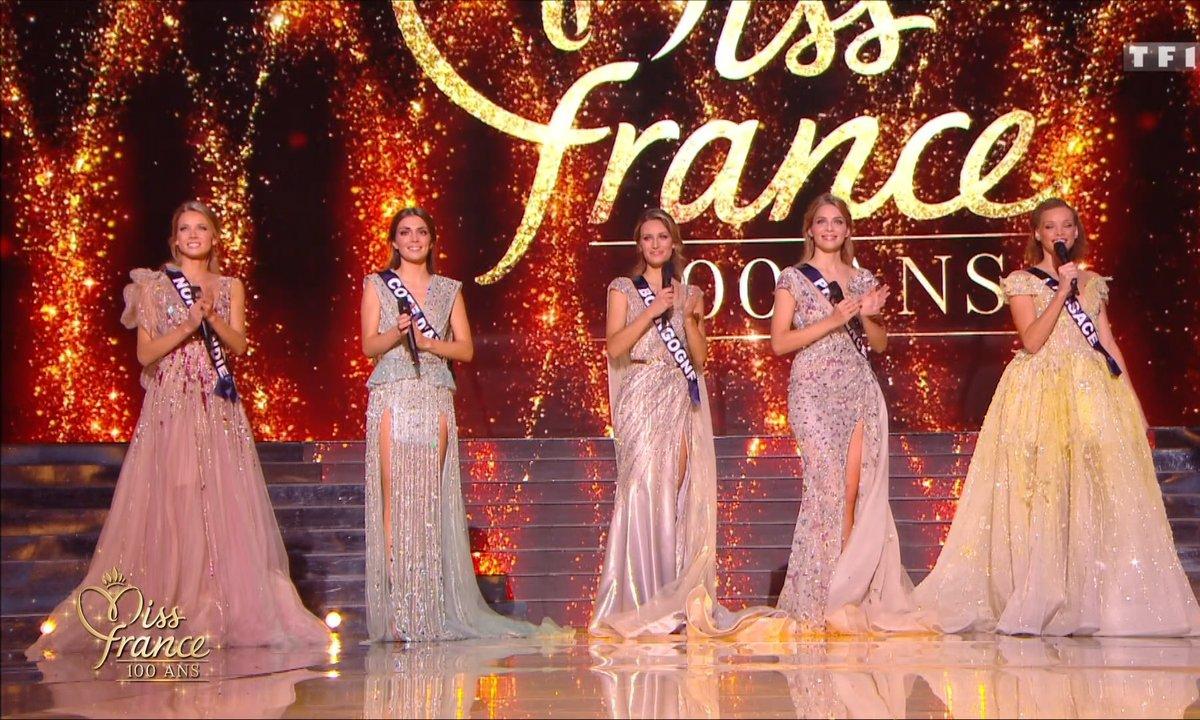 Les 5 finalistes répondent aux questions des internautes - Miss France 2021