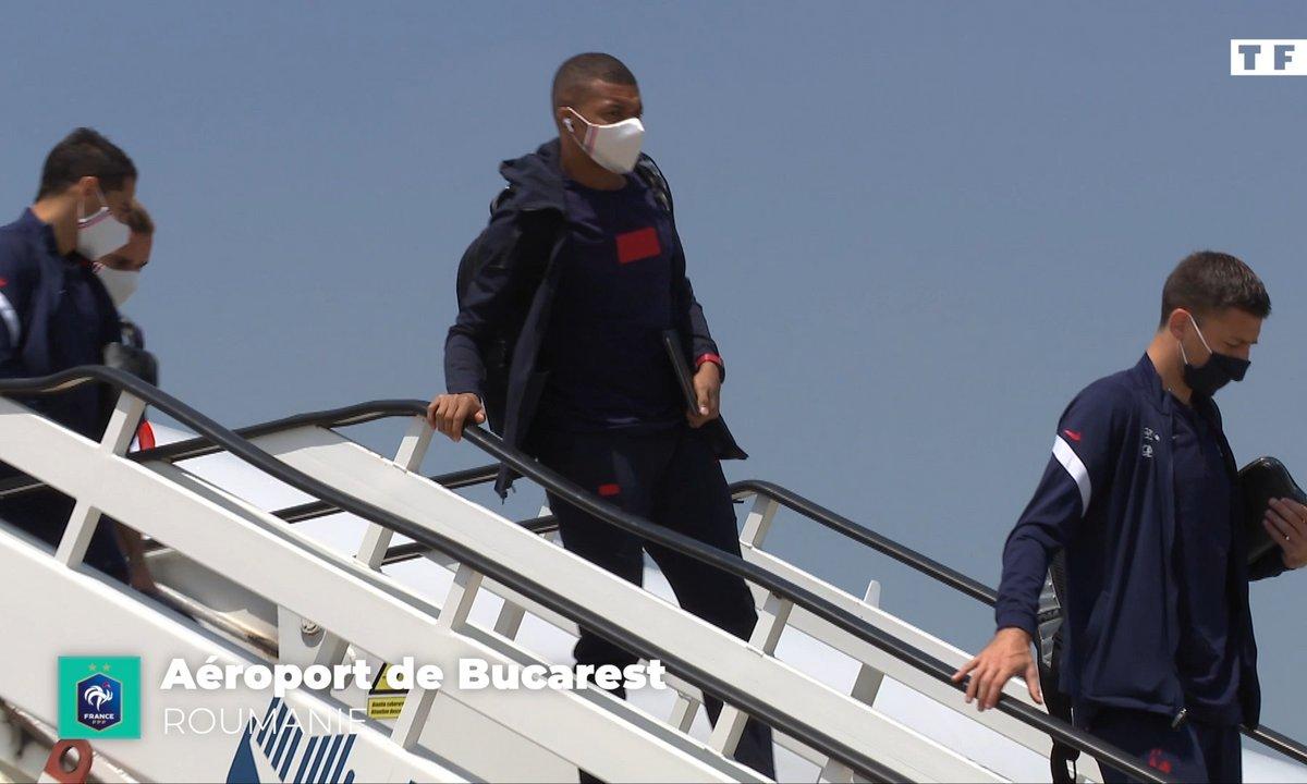 Equipe de France : les Bleus débarquent à Bucarest !
