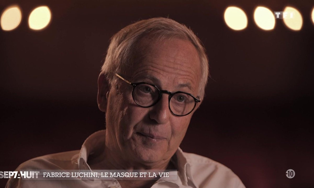 Les confidences de Fabrice Luchini