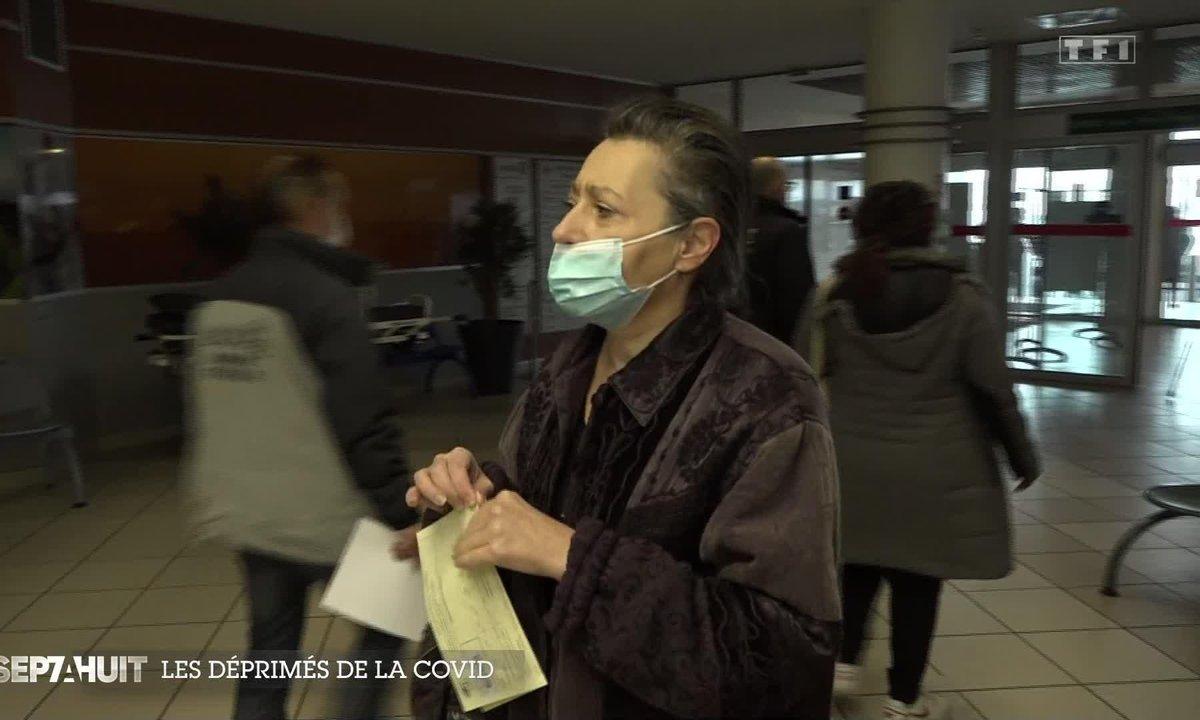Les déprimés de la Covid : du confinement à l'hôpital psychiatrique