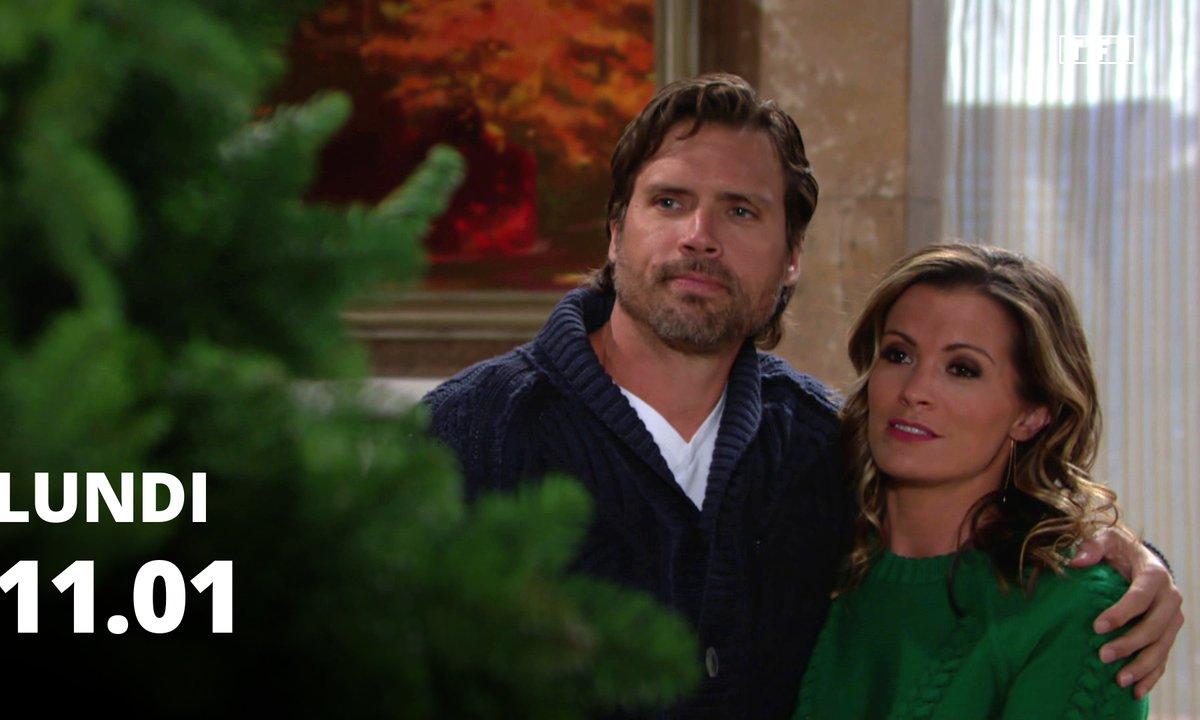 Les feux de l'amour - Episode du 11 janvier 2021