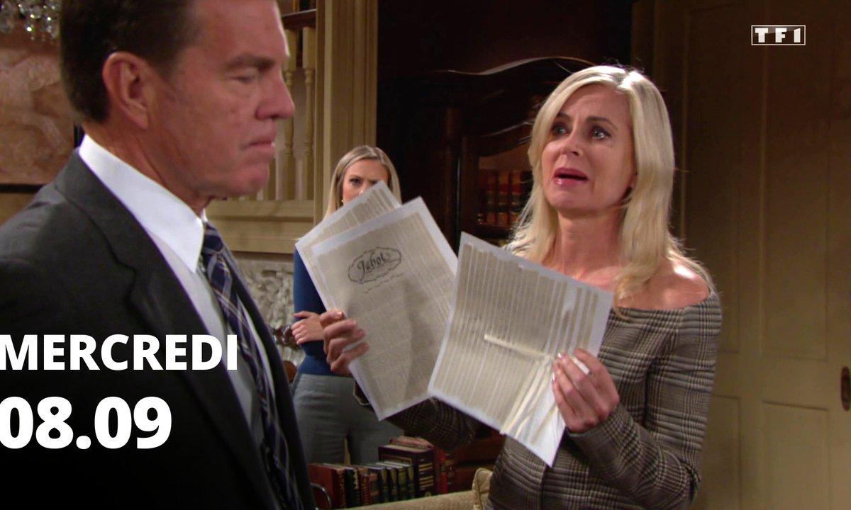 Les feux de l'amour - Episode du 8 septembre 2021