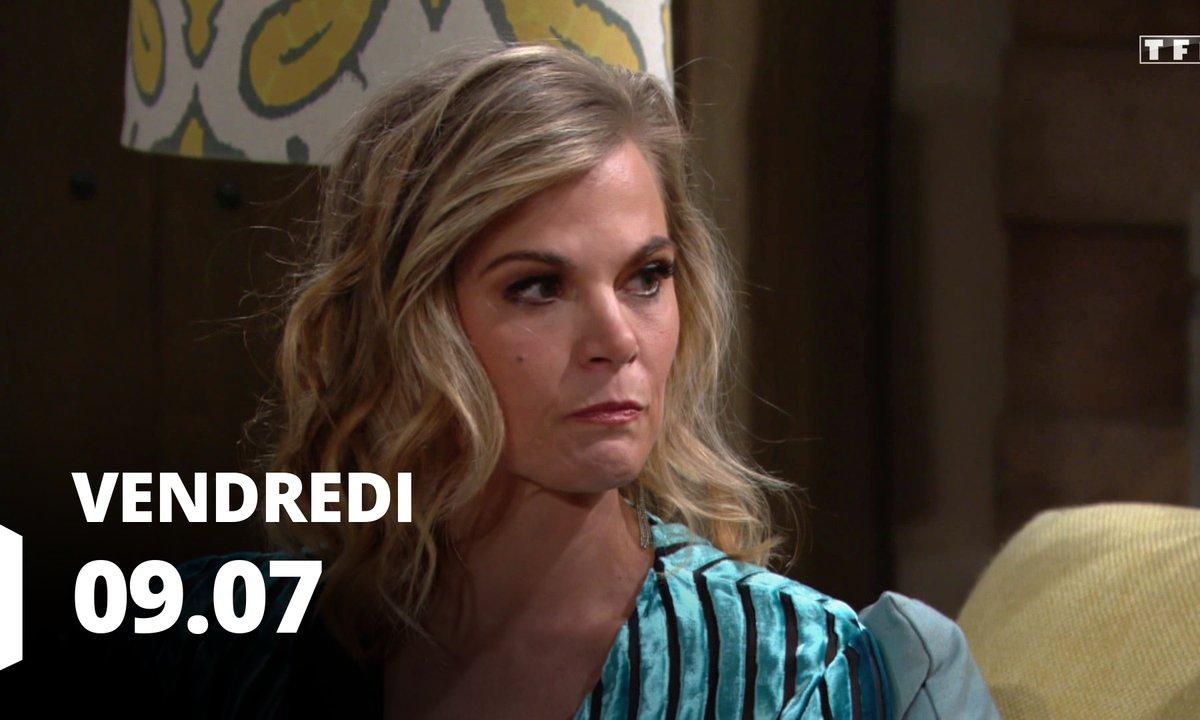 Les feux de l'amour - Episode du 9 juillet 2021