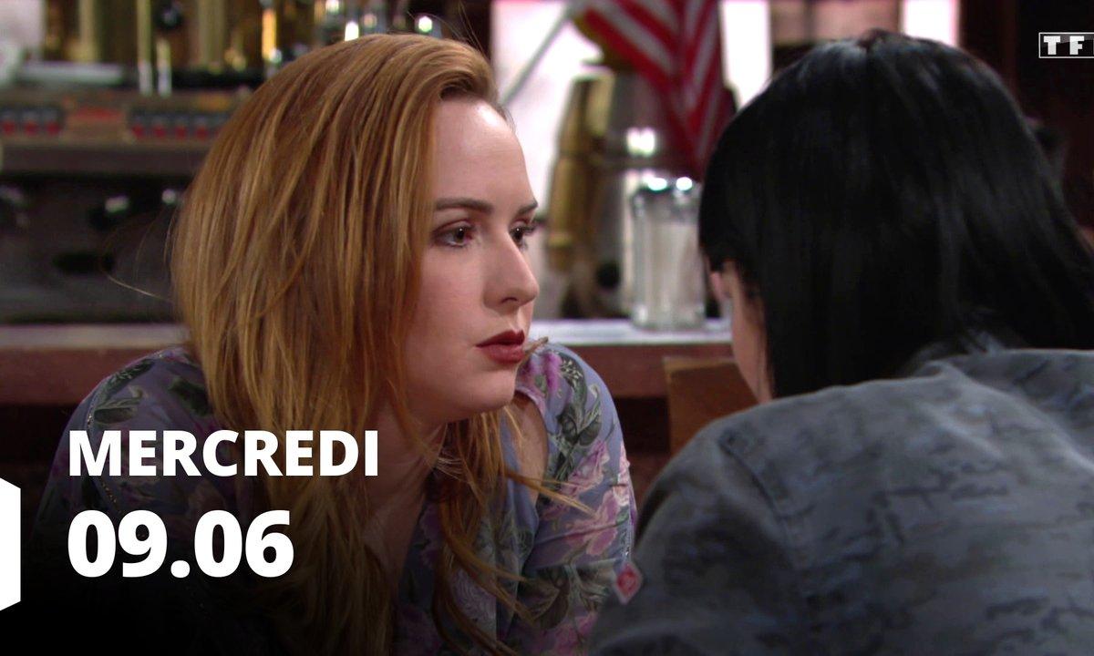 Les feux de l'amour - Episode du 9 juin 2021