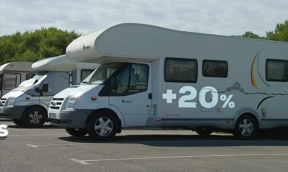 Les Français raffolent du camping-car