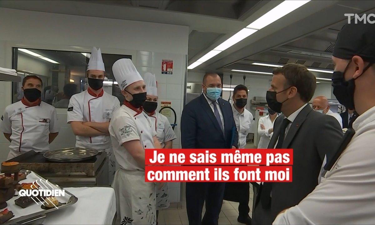 Les lycéens bourrés de talent de l'avant-gifle d'Emmanuel Macron
