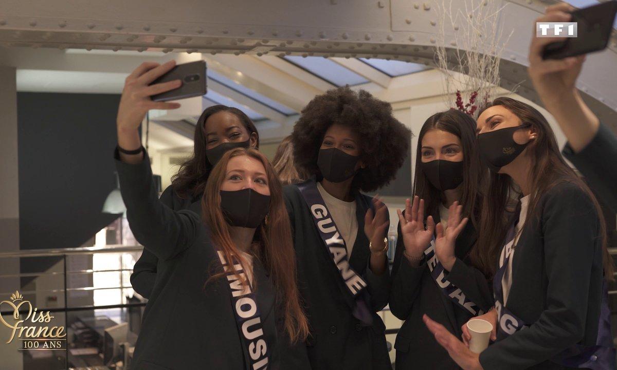 """Les Miss dans une """"bulle COVID"""" (en vidéo) - Miss France 2021"""