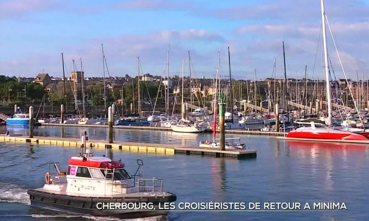 Les paquebots de retour à Cherbourg, mais a minima