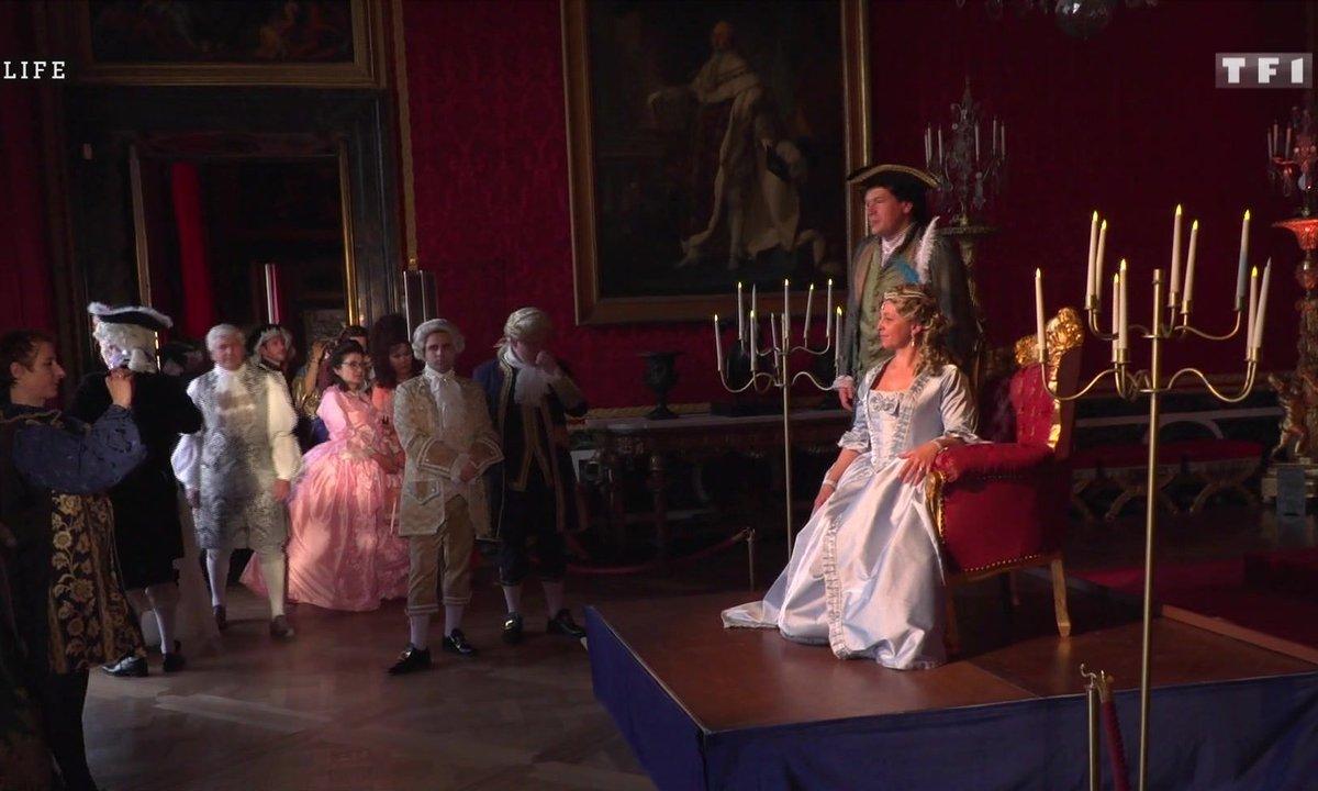 Les passionnés du château de Versailles