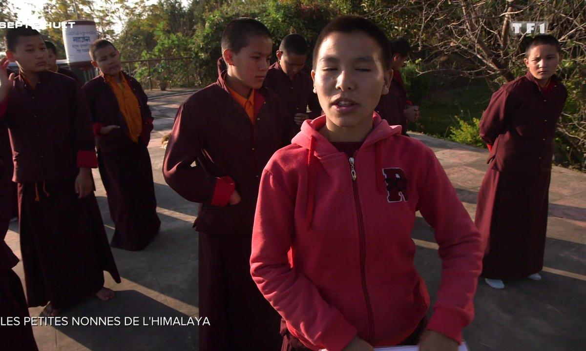 Les petites nonnes bouddhistes de l'Himalaya