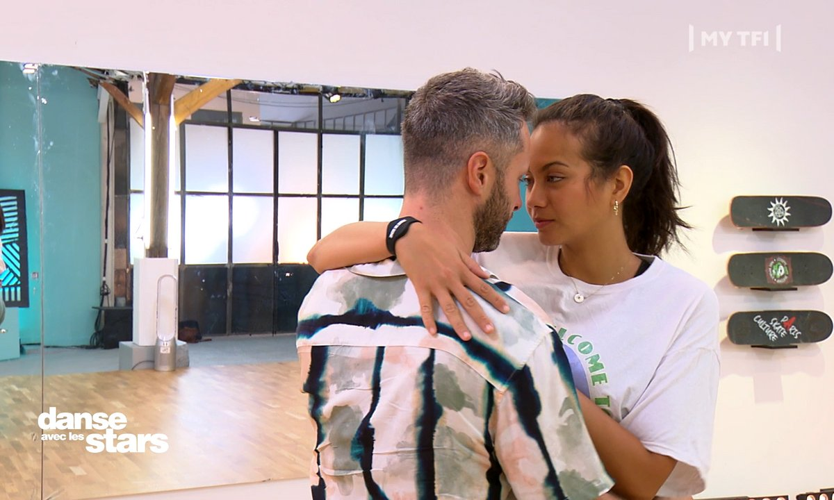 """DALS 2021 - Répétitions - """"N'aie pas peur de me toucher"""" . C'est chaud entre Vaimalama Chaves et Christian Millette"""