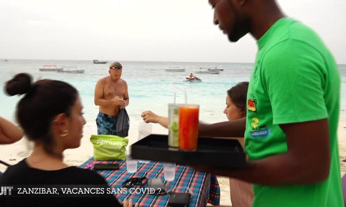 Les touristes se ruent à Zanzibar, une destination de rêve sans restrictions sanitaires