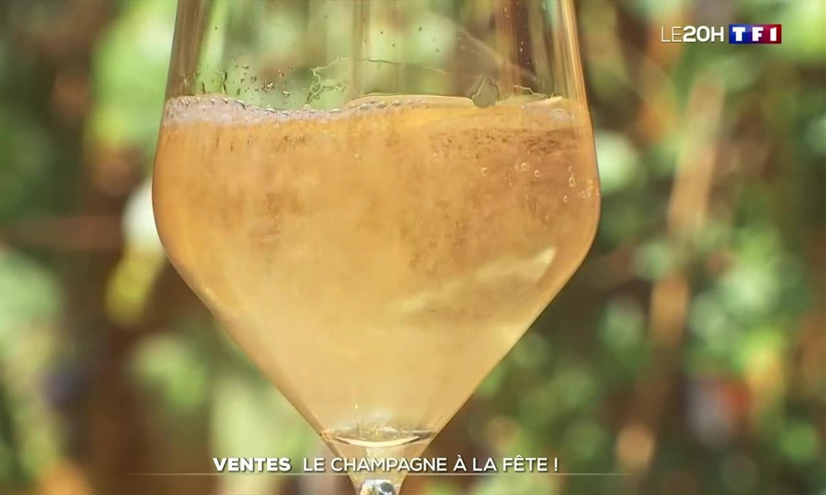 Les ventes de champagne explosent