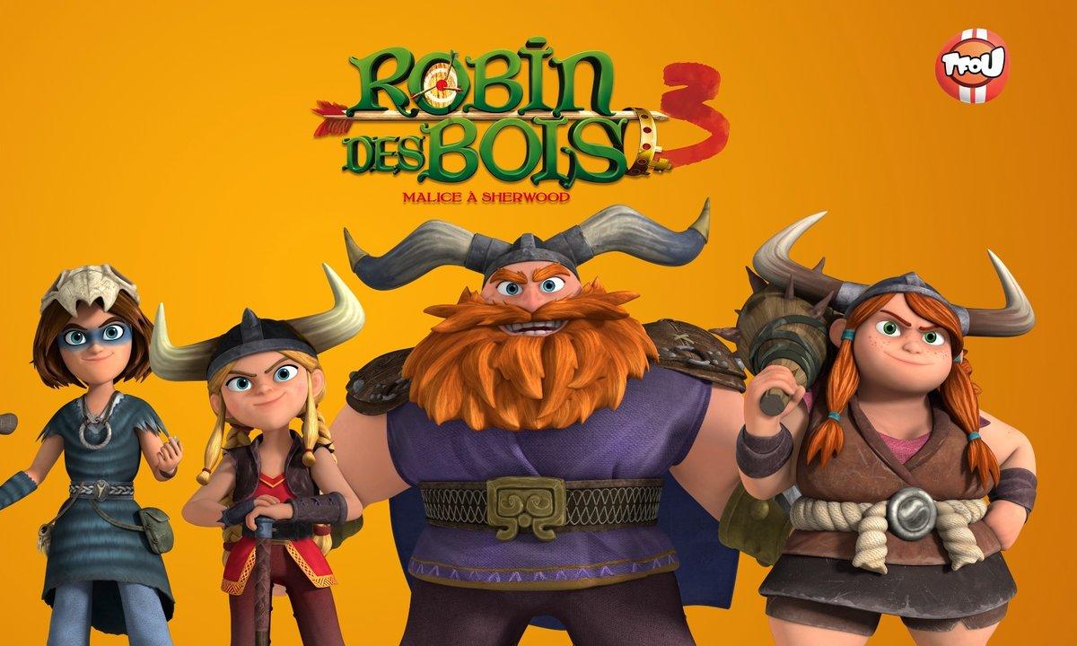 Robin des bois - saison 3 - Les Vikings
