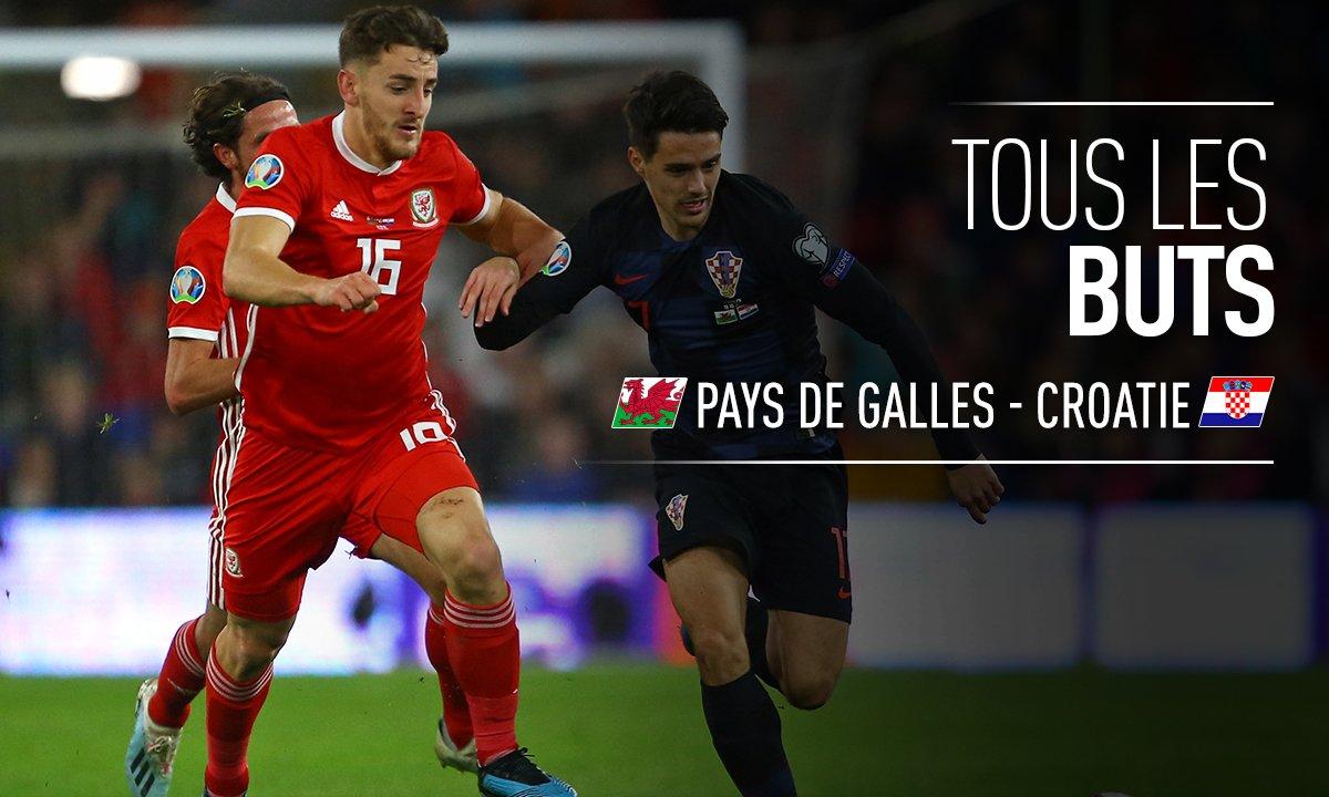 Pays de Galles - Croatie : Voir tous les buts du match en vidéo