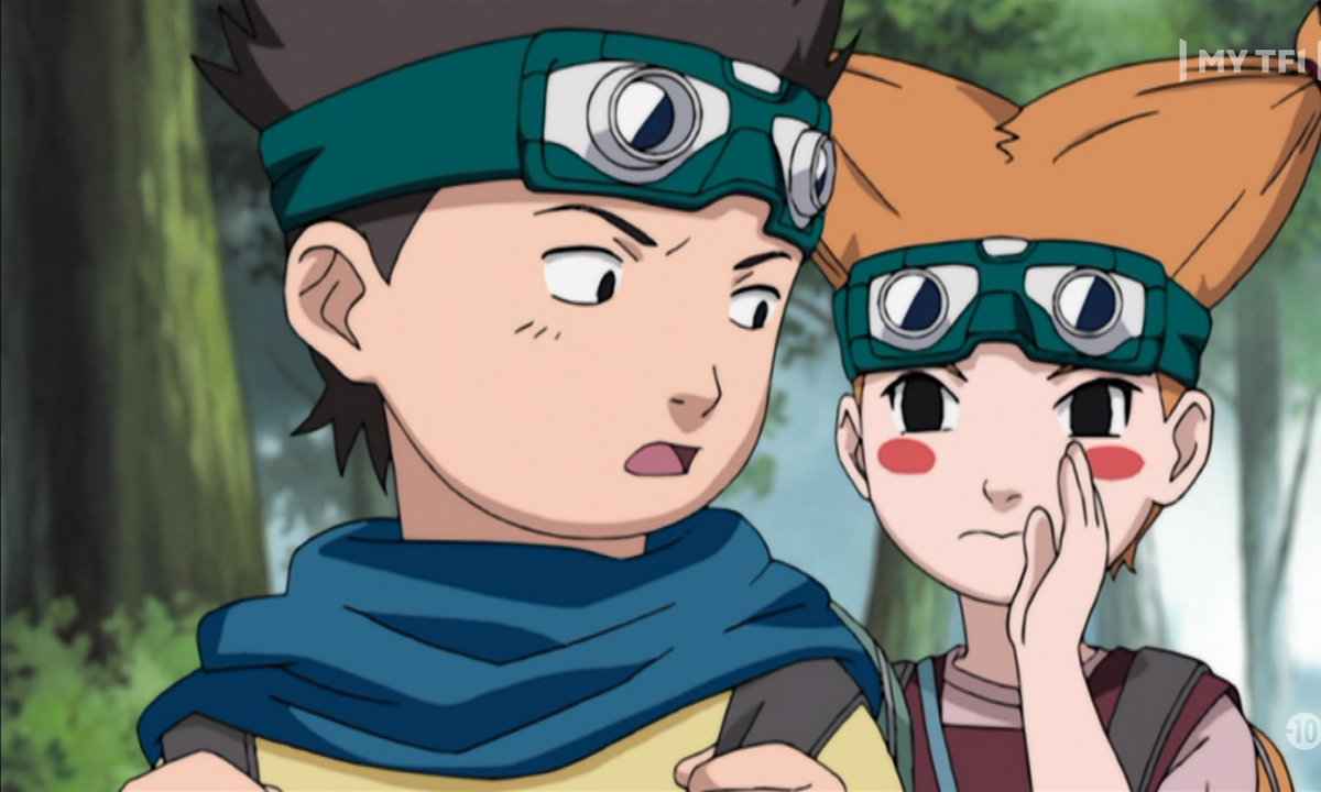 Naruto - Episode 158 - l'esprit d'équipe