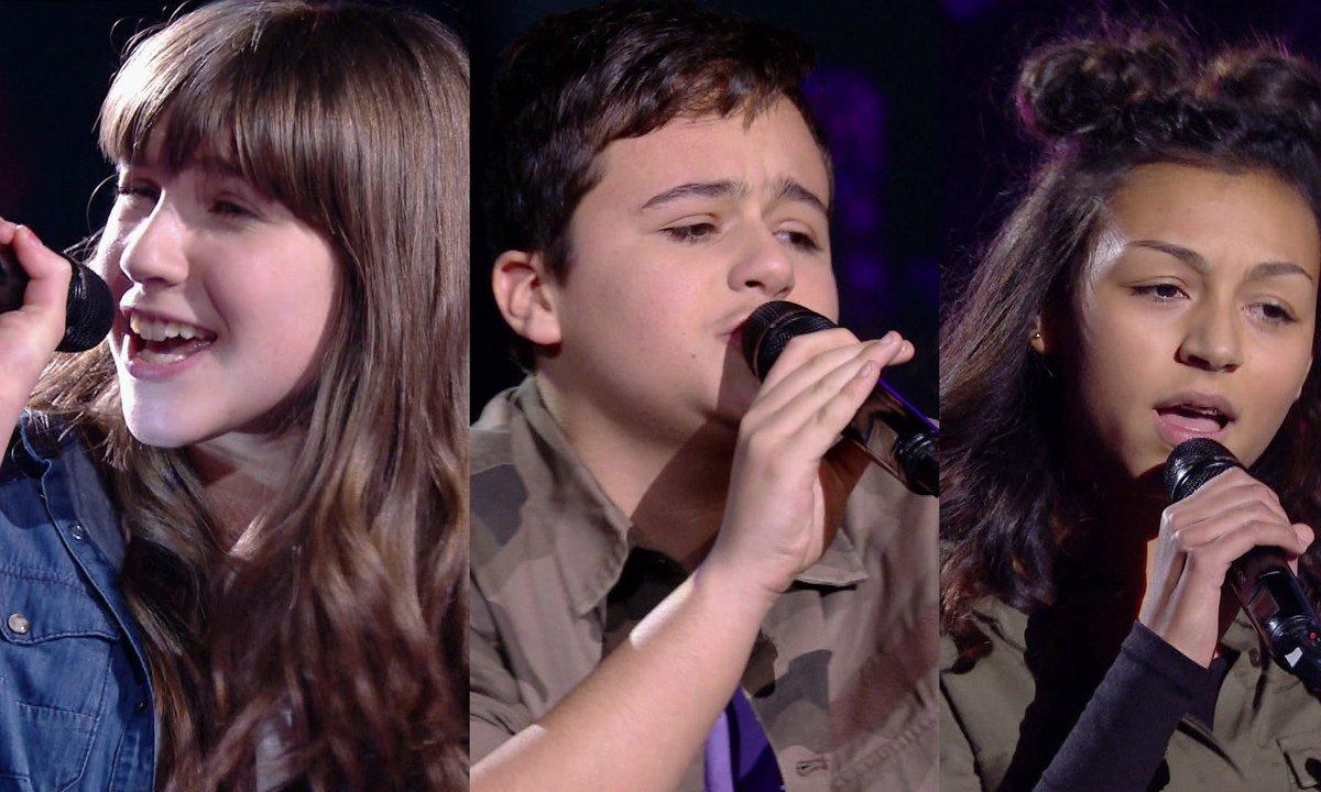 Leticia VS Mathias VS Océane chantent « Wrecking Ball » de Miley Cyrus (Team Amel Bent)