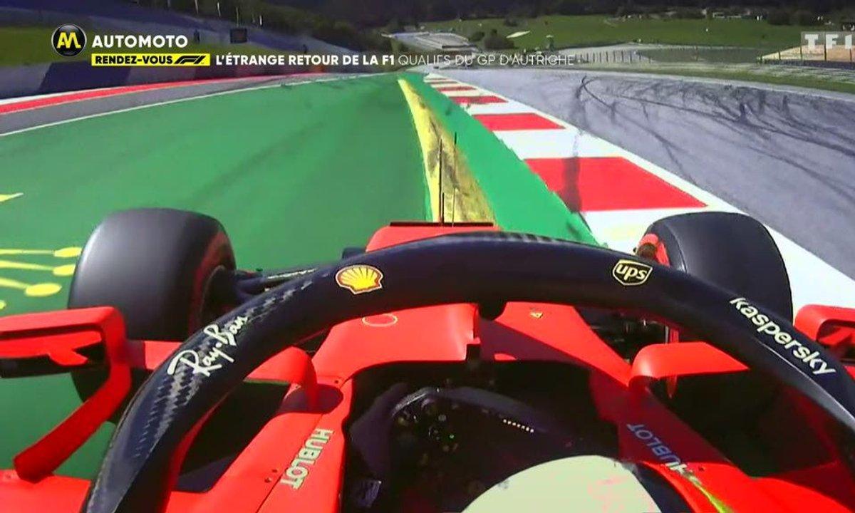 L'étrange retour de la F1 : qualifs du GP d'Autriche
