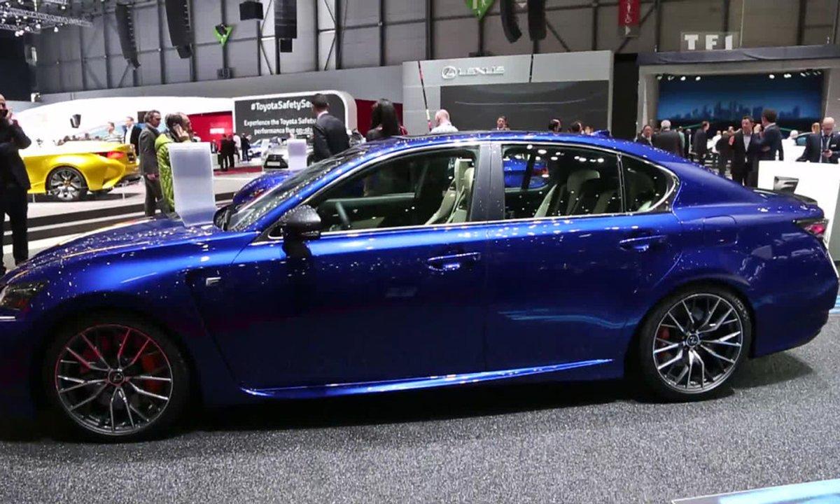 La Lexus GS F au Salon de Genève 2015