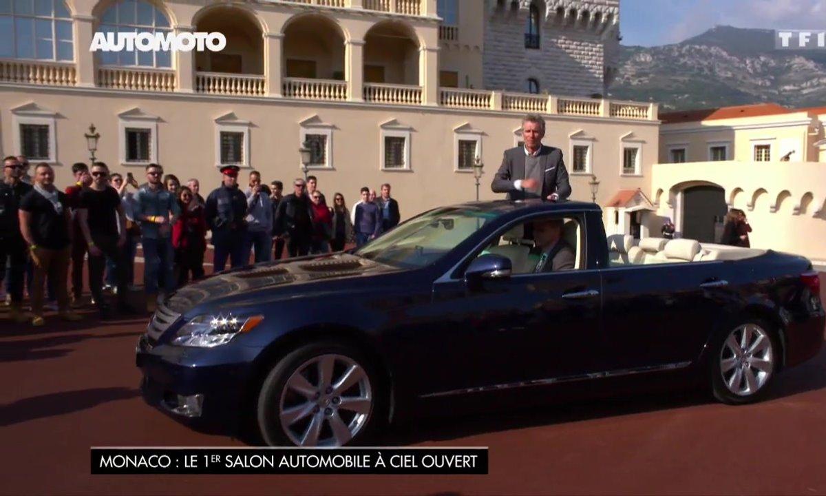 Salon de Monaco : La Lexus LS 600h L du mariage du Prince Albert