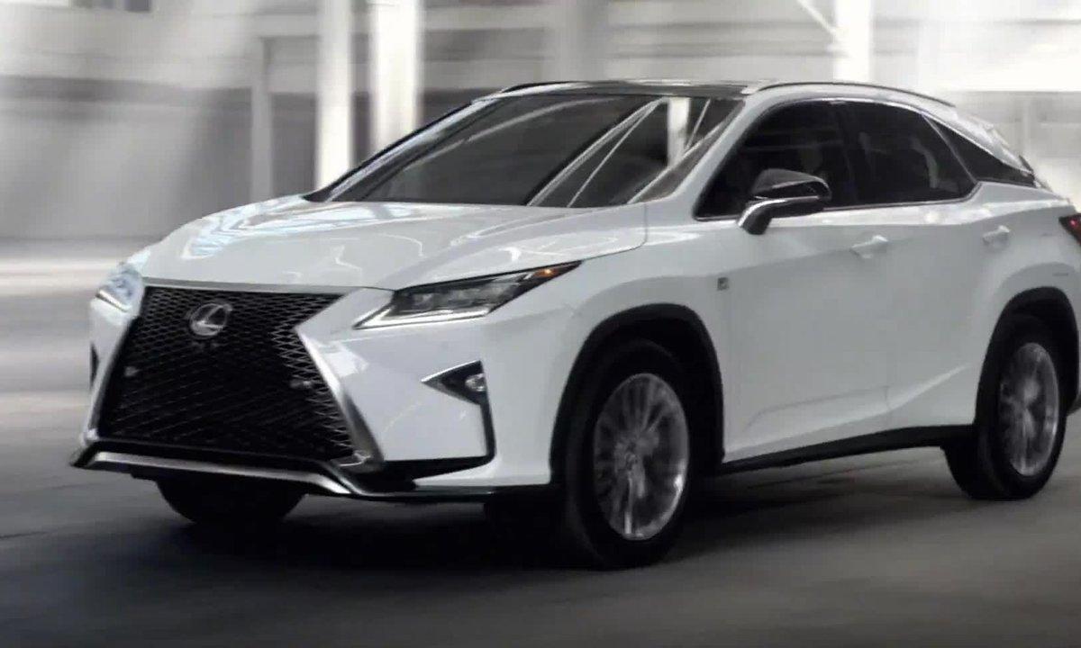 Lexus RX 2015 : présentation officielle