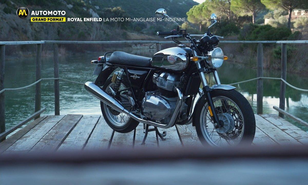 Royal Enfield : la moto mi-anglaise mi-indienne