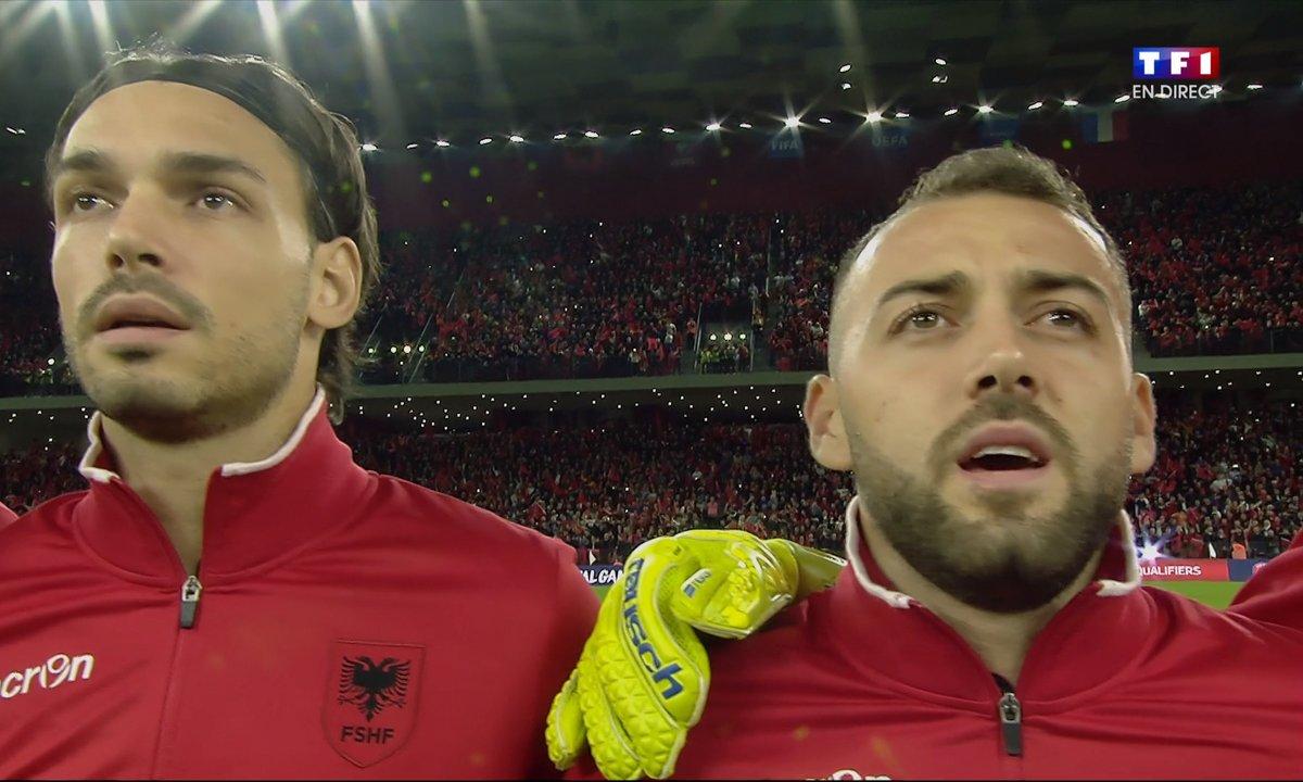 Albanie - France : Voir l'hymne albanais en vidéo