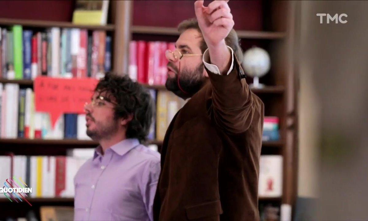 Les libraires dépassés par le livre de Jean-Marie Le Pen (Eric et Quentin)