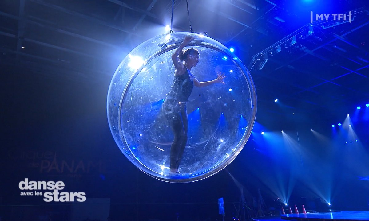 DALS - Linda Hardy enfermée dans sa bulle